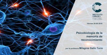 Psicobiología de la memoria de reconocimiento