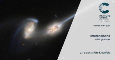 Interacciones entre galaxias